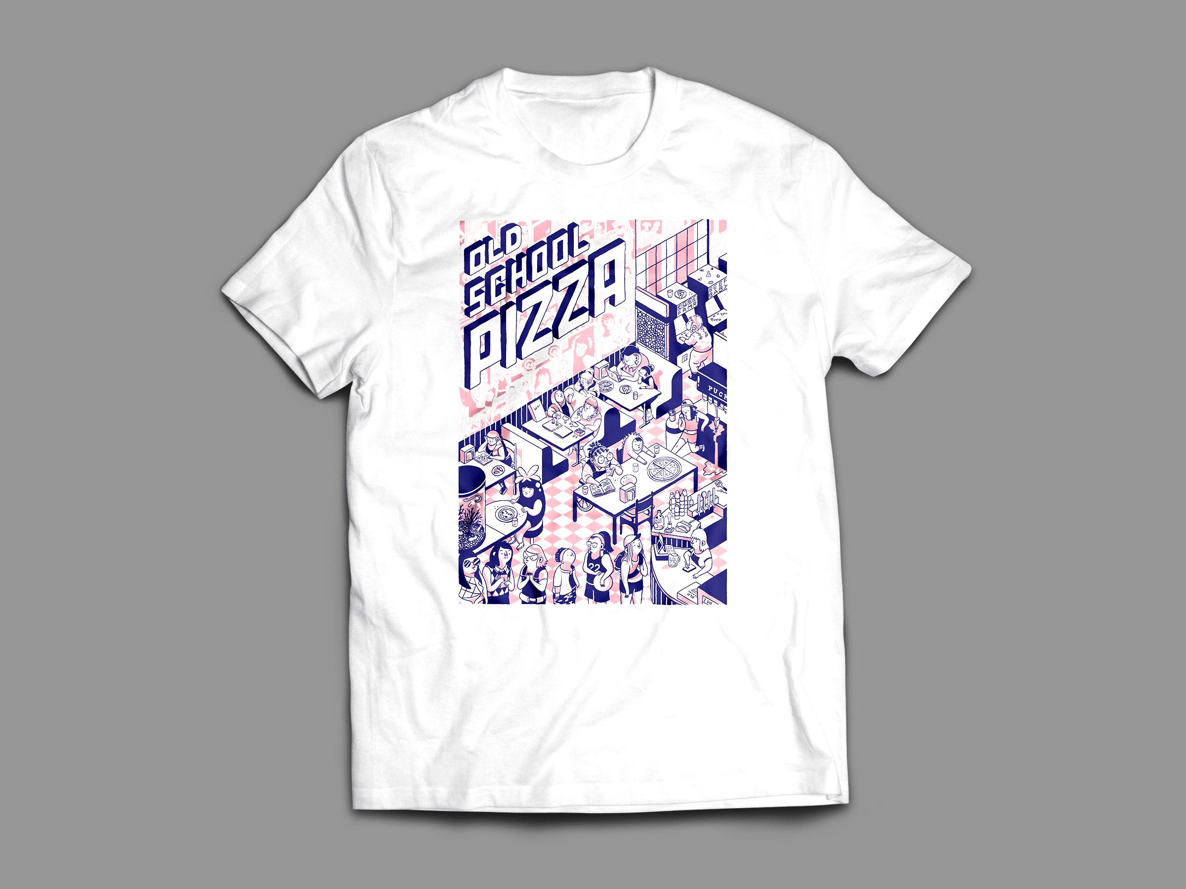 e4511e84 Limited Prints #002 – Pizza Friends – Heart of the Deernicorn